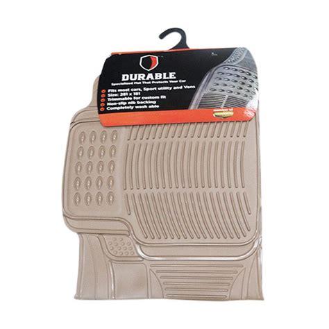 jual durable pvc karpet mobil for mobilio or brv beige harga kualitas terjamin