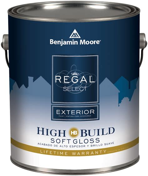benjamin regal select exterior high build paint at guiry s color source