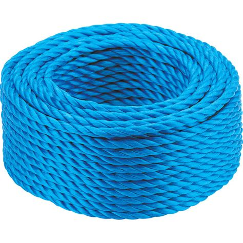 6mm Polypropylene Rope - draper 30m x 6mm polypropylene rope