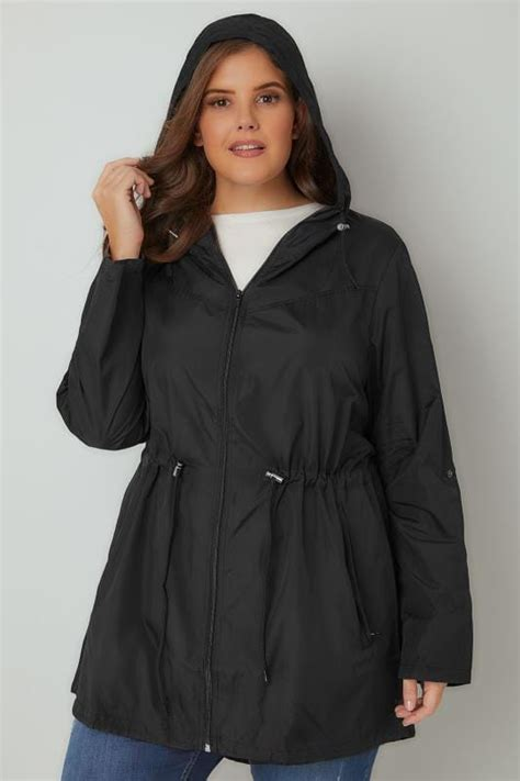 Supplier Pocket Parka By Adieva black pocket parka jacket with plus size 16 to 36