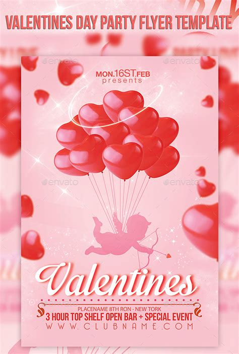 valentines day shows valentines day flyer template events flyers