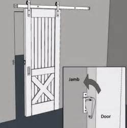 how to a door rarelock barn door lock sliding door lock stainless simple