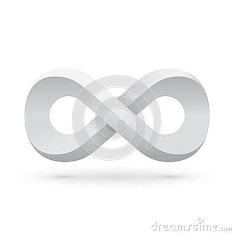 white infinity symbol white infinity symbol stock vector image 46464638