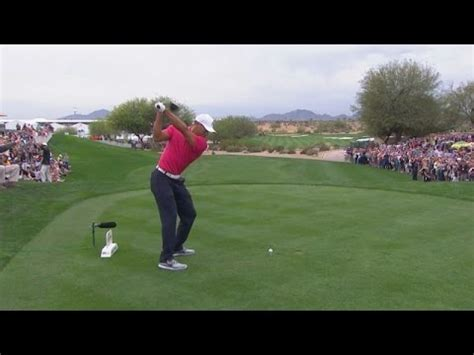 tiger woods golf swing analysis tiger woods swing analysis at 2015 waste management youtube