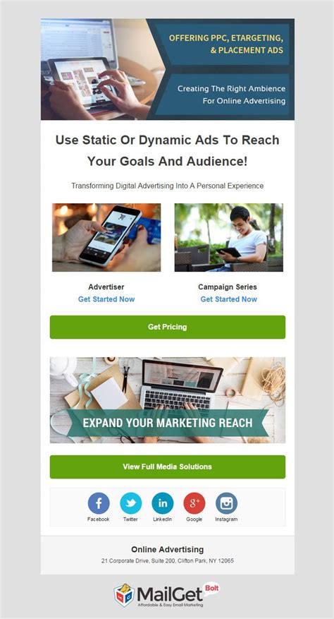 Email Advertising Templates by 15 Best Advertising Agencies Email Templates Ad Agency