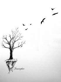 tree into birds tattoo ideas tats pinterest