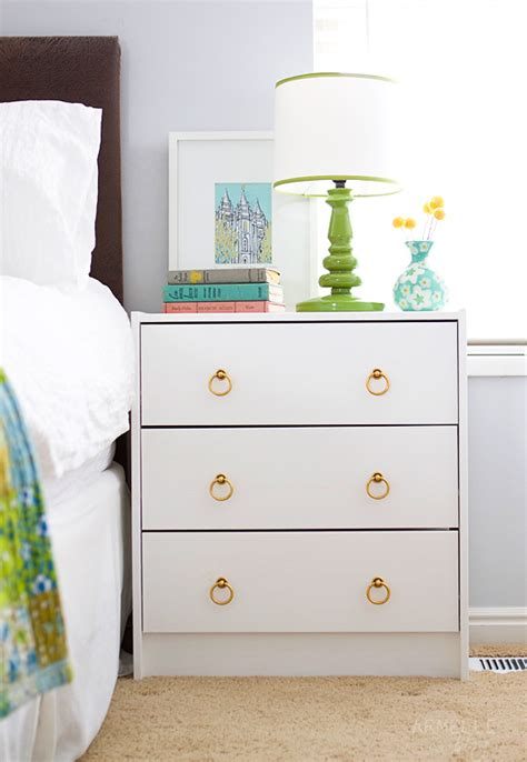 painting ikea dresser diy ikea rast dresser to bedside table armelle blog