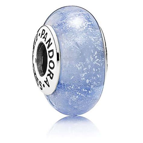 Disney Cinderella Silver Charm With Blue Fluorescent Murano Glas P 1159 your wdw store disney pandora charm cinderella signature color charm