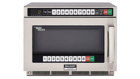 Microwave Sharp R 728 r cd2200m commercial microwave commercial appliances