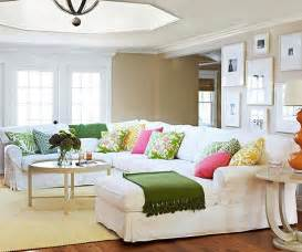 add color to your living room beige walls pillows and