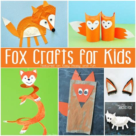 fox crafts for best 25 fox crafts ideas on felt fox felt