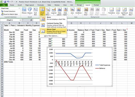 layout menu excel microsoft excel ss3a