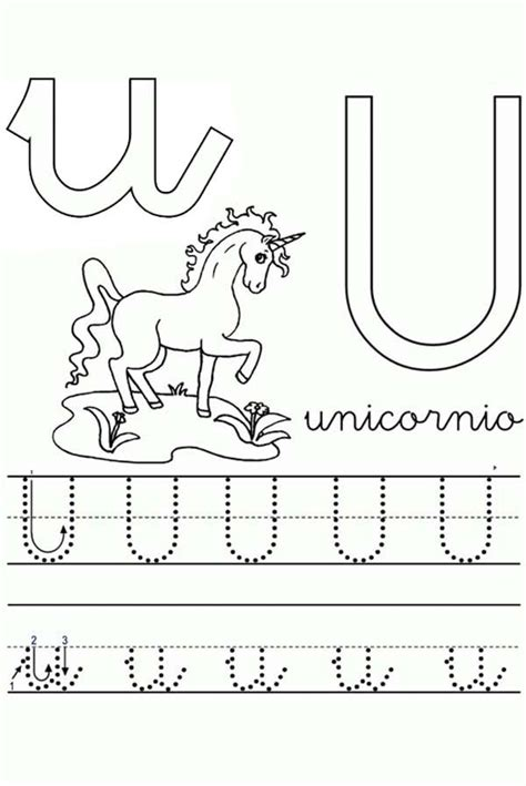 u words coloring page color the u words coloring page coloring pages of things