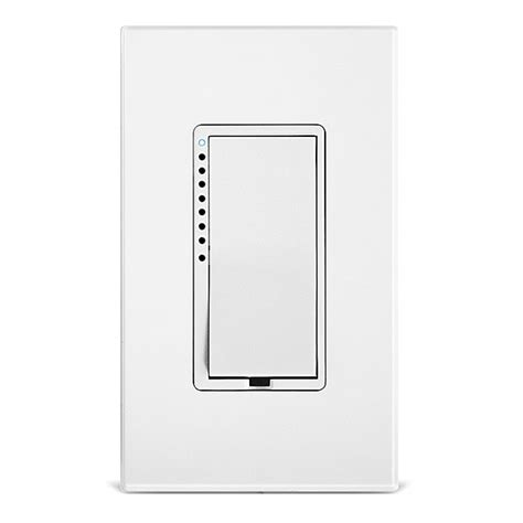 dual smart light switch dimmer switch