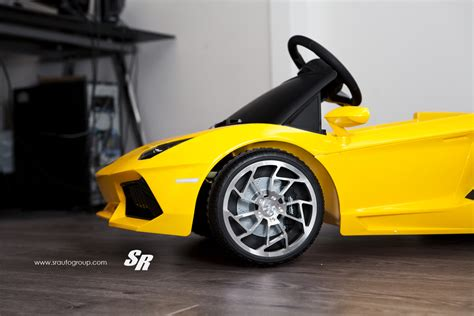 Mini Lamborghini Featured Fitment Mini Lamborghini With New Wheels