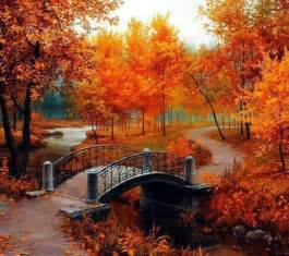 Beautiful autumn painting pictures photos and images for facebook