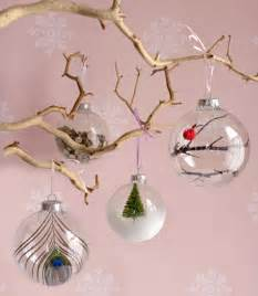 Homemade Christmas Ornaments by 10 Diy Christmas Tree Glass Ornaments Shelterness