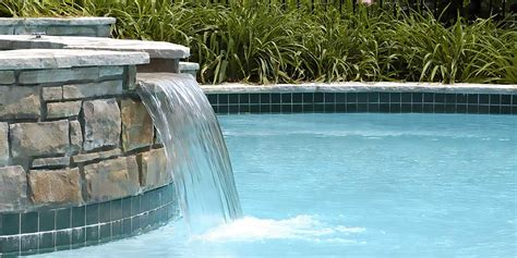 swimming pool waterfalls swimming pool waterfalls pictures pool on slope stone