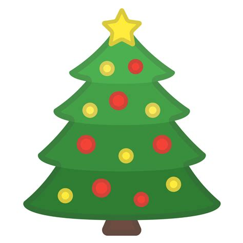 christmas tree emoji tree icon noto emoji activities iconset
