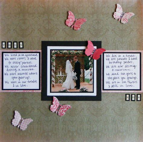 Wedding Anniversary Scrapbook Ideas snap scrap tweet the retweetables wedding