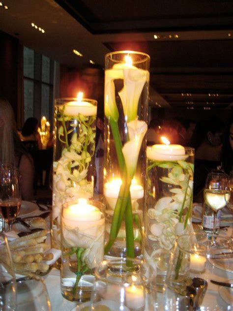 56 clear cylinder vases for submerged flowers centerpiece