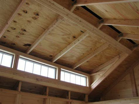 shed roof framing  dormertransom craftsman sheds