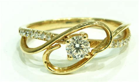 yellow gold antique engagement rings engagement ring