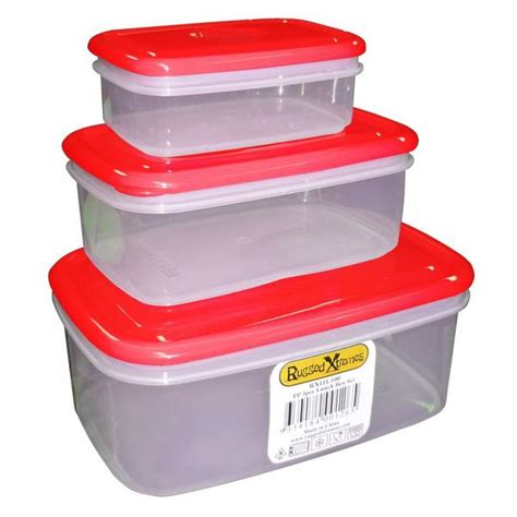 rugged storage containers rugged xtremes food storage box set visual workwear