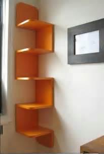 Eckregale Bei Ikea by Eckregale Aus Holz Mit Der Farbe Orange Haus