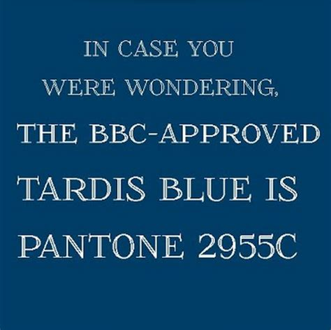 david tennant tardis paint color