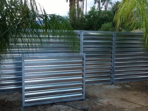 Cheap Dining Room Chandeliers Corrugated Metal Fence Palm Springs Style