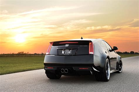 hennessey cadillac cts v coupe 2013 hennessey vr1200 cadillac cts v coupe rear 3 4 angle