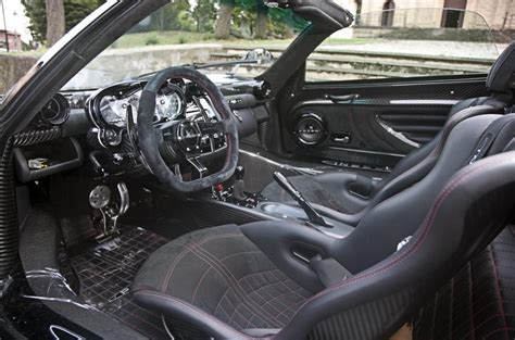 pagani zonda interior pagani zonda cinque roadster review 2016 autocar
