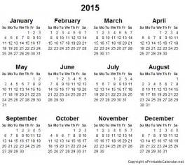 free 2015 yearly calendar template 2015 free printable calendars printable calendar