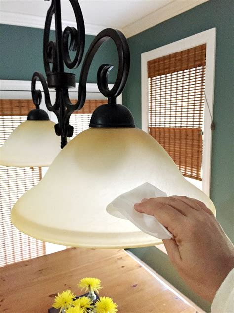 Spring Cleaning The Kitchen With A Printable Checklist Cleaning Light Fixtures