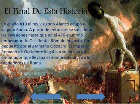 caida del imperio romano de occidente historia y ca 237 da del imperio romano de occidente