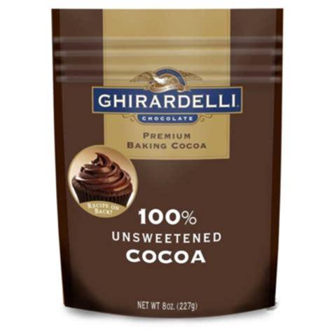 Premium Sarf Cocoa Leaf ghirardelli unsweetened cocoa powder 8oz pouch