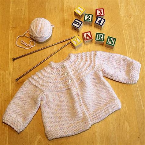 knitting pattern baby jersey 5 hour knit baby sweater allfreeknitting com