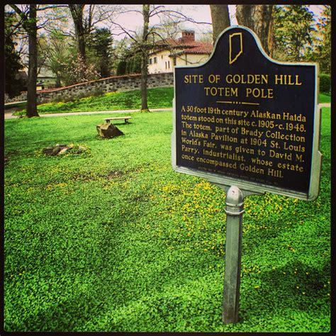 hi mailbag parry mansion in golden hill historic the golden hill totem pole historic indianapolis all