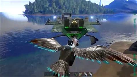 ark armored boat ark survival evolved part 17 rex taming from a quetzal