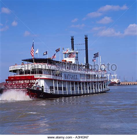 blue wave boats new orleans united states of america wave passenger tourist stock