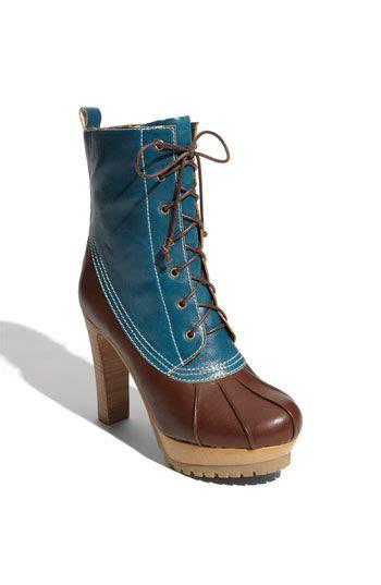 high heel duck boots 646 best kooky heels images on