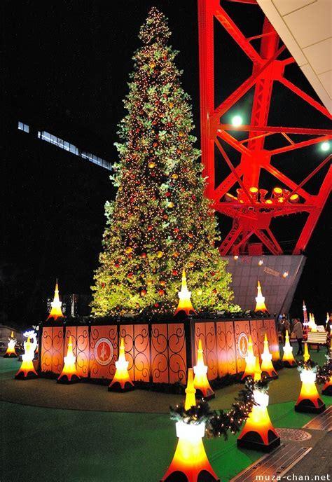 Tokyo Tower Christmas Tree, for a romantic Christmas night