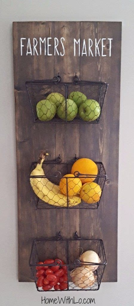 17 best ideas about hanging fruit baskets on
