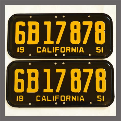 Vanity Plates For Sale by Plate California Yom License Plates And Frames