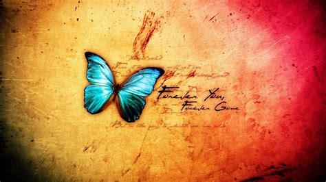 abstract blue butterfly desktop pc  mac wallpaper