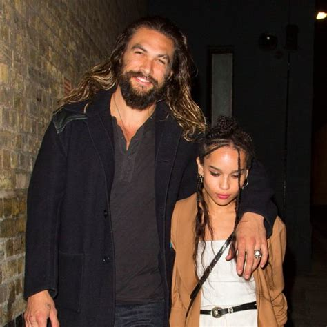 the gallery for gt jason momoa zoe kravitz