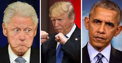 donald trump stroke trump just took an axe to obama and clinton s legacies
