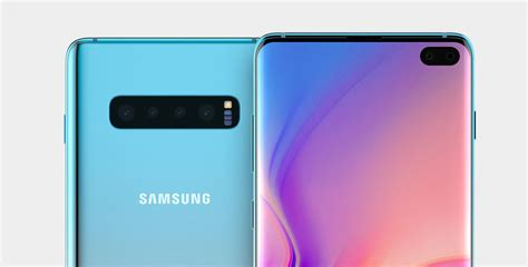 Samsung Galaxy S10 Plus 91mobiles by The Galaxy S10 Could Be The Samsung Flagship With Cameras At The Rear Soyacincau