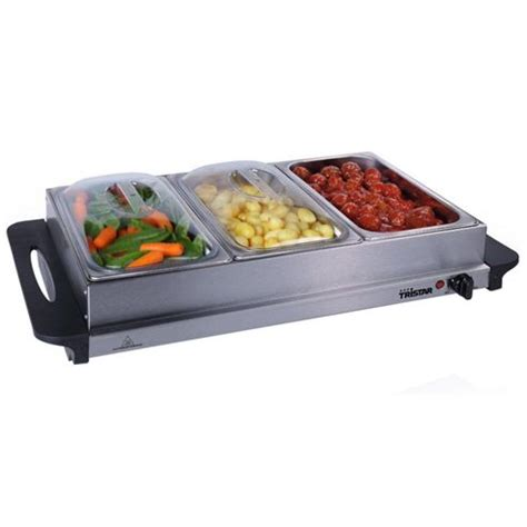 buy premium large buffet warmer server hot plate 3 x 2